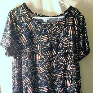 "LuLaRoe Carly Dress ""Americana"" collection"